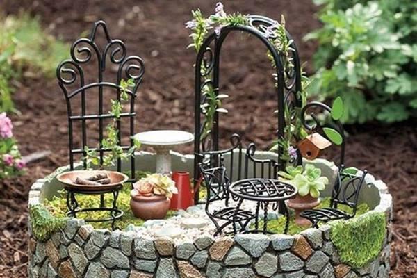 教你打造微型花园