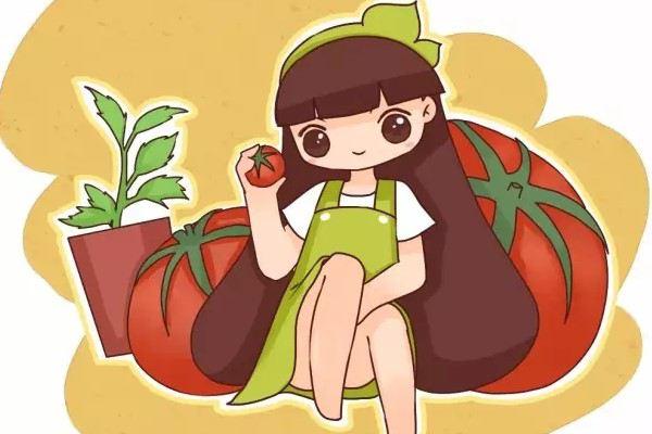 买了一个西红柿,切成片埋土里,没想到吃都吃不完......