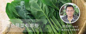 绿色蔬菜有哪些