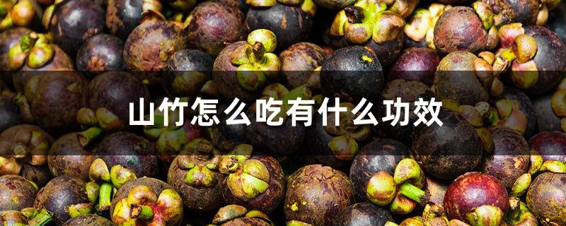 山竹怎么吃有什么功效,山竹里面的核能吃吗